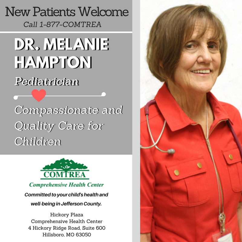 Dr. Melanie Hampton, Pediatrician at COMTREA