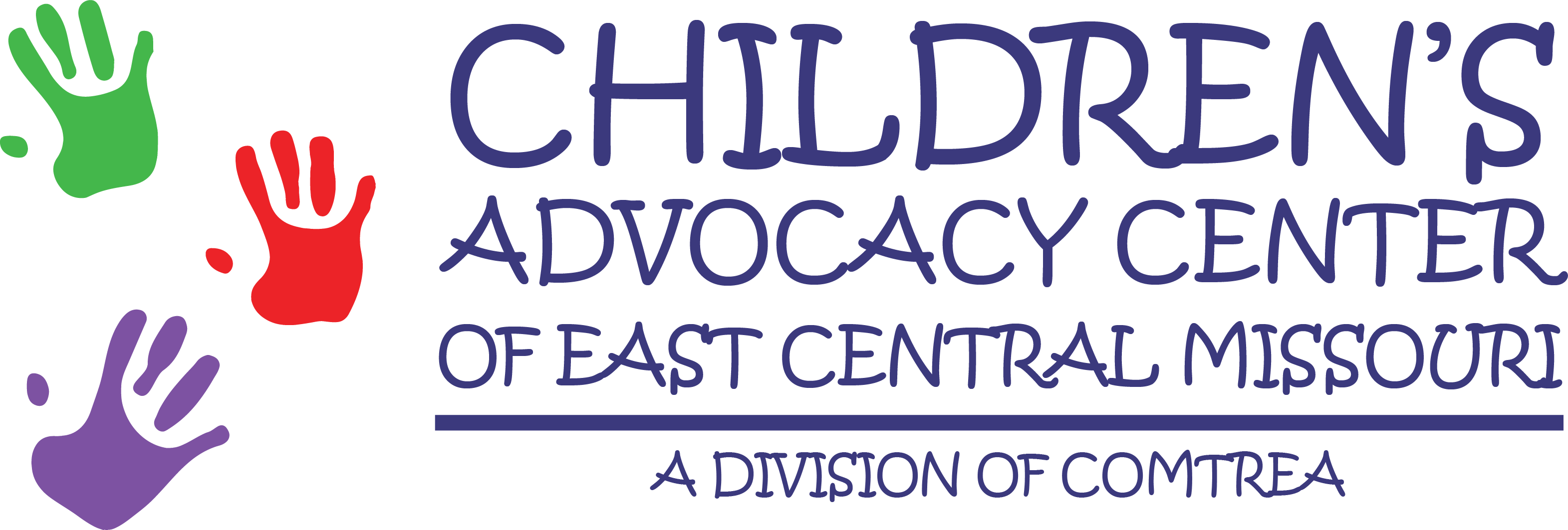 Logo for Children's Advocacy Center of East Central Missouri. A division of COMTREA.