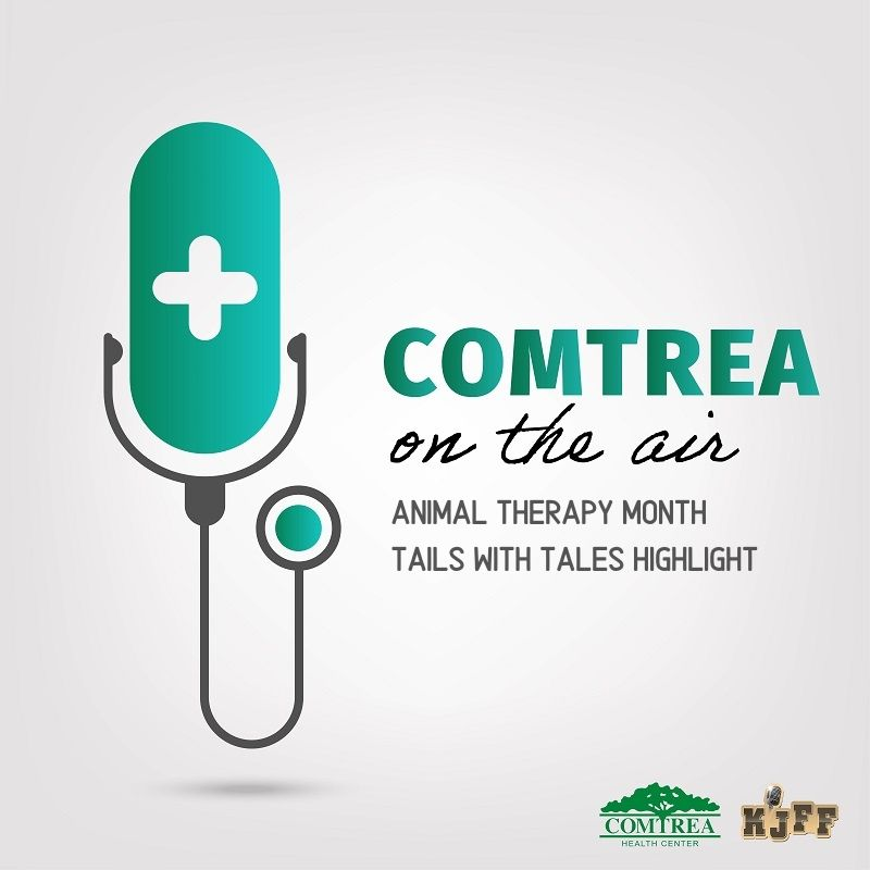 COMTREA On The Air - Animal Therapy Month