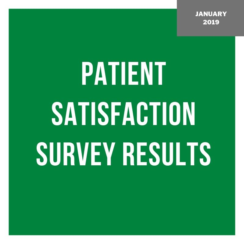 Patient Satisfaction Survey Results